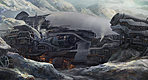 Sci-fi_snow village